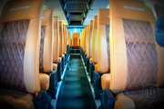 Обшивка перетяжка салона Neoplan Setra,  перетяжка сидений автобуса нео